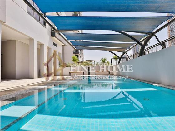 Your Dream Home/ 1BR Apt with Balcony in Al Reem