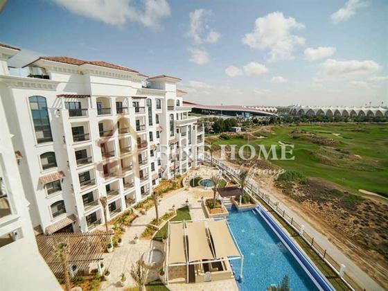 Superb 3BR Apartment + Huge Balcony With Golf View