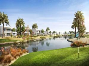 Single Row 4BR Villa / Big Plot Size on Main St in Yas Island