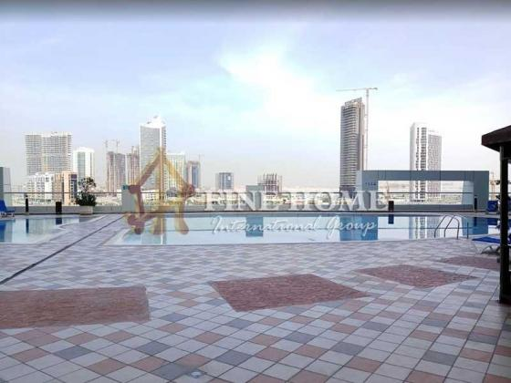 Very Spacious 2 BR+MR with Beautiful Sea View