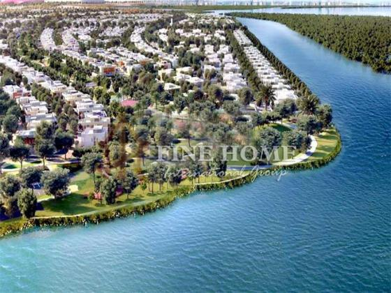 HOT DEAL! Premium plot With Canal View in West Yas