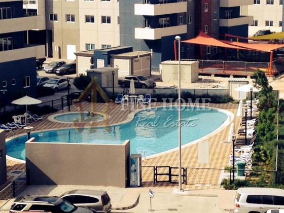 Two-Bedroom with Pool view in Al Reef