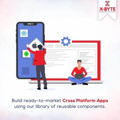 Top Cross Platform App Development Company in Dubai, UAE | X-Byte Enterprise Solutions