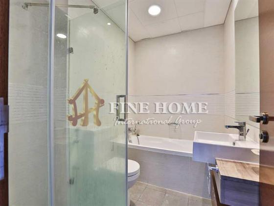 Sea View / High-Floor 1BR with Laundry Room