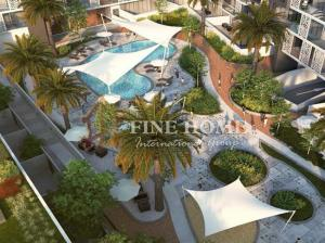 Fully Furnished 1 Bedroom with Balcony + Pool View