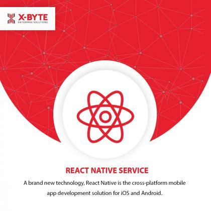 React Native Mobile App Development Company USA    React Native App Development Services   X-Byte Enterprise Solutions