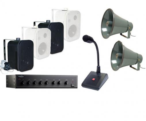 How does public address system work?