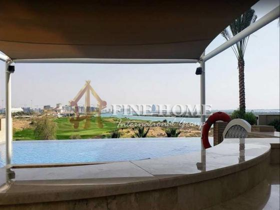 With Amazing View 3BR Apartment / 2 Balconies