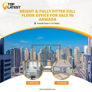 Bright and Fully Fitted Full Floor Office For Sale