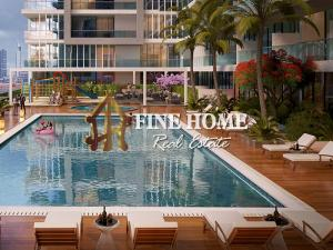 Furnished Studio , pool View ,7% ROI for 7 Years
