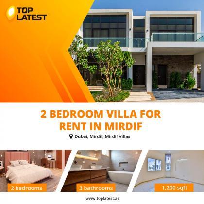 2 Bedroom Villa for Rent in Mirdif