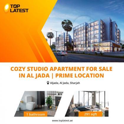 Cozy Studio Apartment for Sale in Al Jada   Prime Location