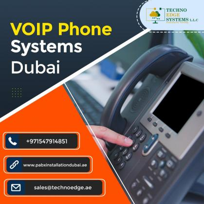Choose Techno Edge Systems for VoIP Phones in Dubai