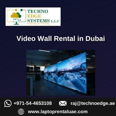 Get Video Wall Rental for Businesses in Dubai
