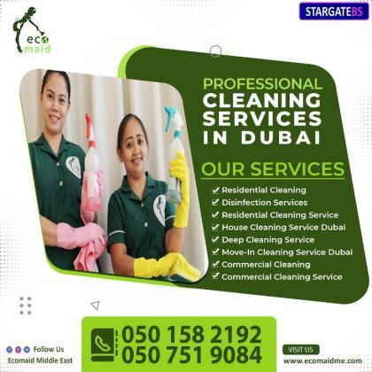 Maid service Dubai and Cleaning services Dubai-EcomaidMe