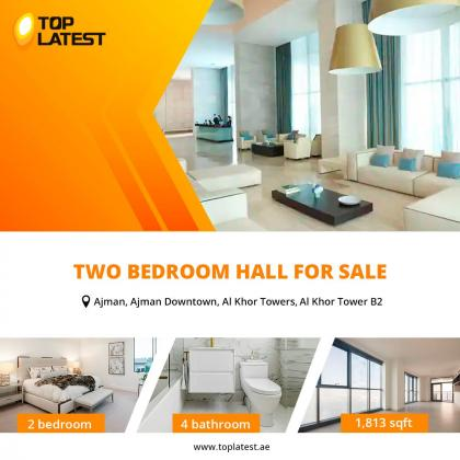 Two-Bedroom Hall for Sale in Al Khor Towers Ajman