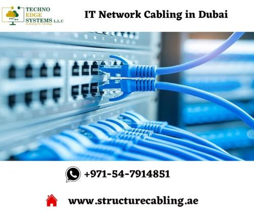 Quality IT Network Cabling Installation in Dubai