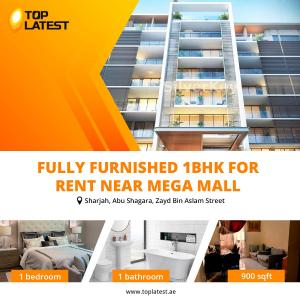 Fully Furnished 1BHK for Rent Near Mega Mall
