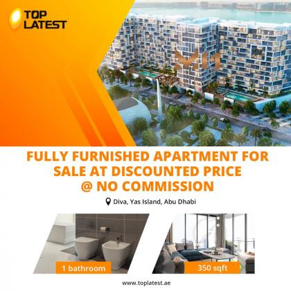 Fully Furnished Apartment For Sale at Discounted Price @ No Commission