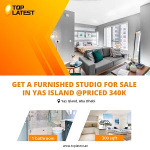 Get a Furnished Studio For Sale in Yas Island
