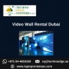 Why Should you Rent a Video Wall from us in Dubai?