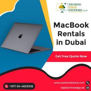 Latest Version MacBook Rental in Dubai