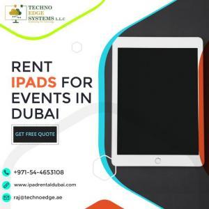 Best Apple iPad Rental Dubai for Business