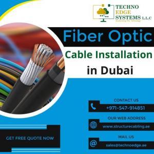 Best Fiber Optic Cabling Installation Services in Dubai