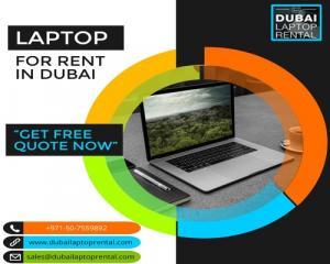 Get Best Laptops for Rent in Dubai