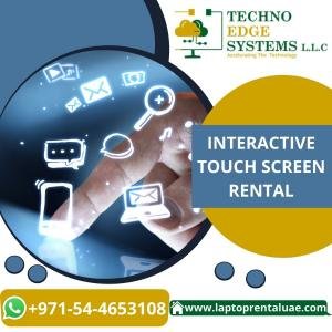 How can Touch Screen Rentals Boost your Events in Dubai?