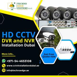 Looking for the Top HD CCTV DVR Installation Services Dubai?