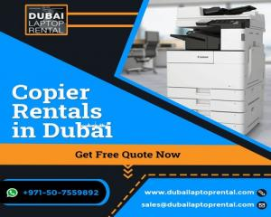 What is the Best Way to Rent a Copier in Dubai?
